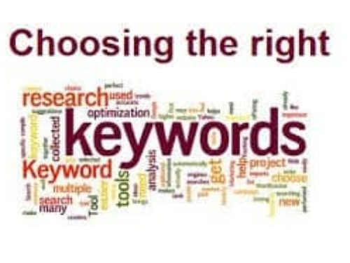How to Choose the Right Keywords